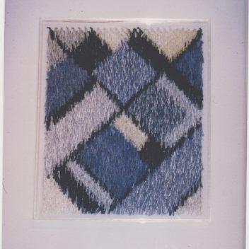 Diagonalen in Blauw 1985