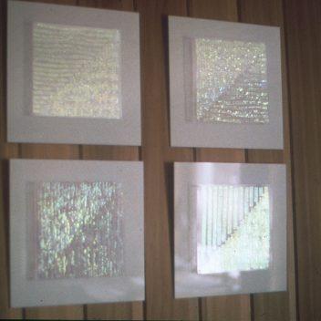 Diagonalen I, II, II, IV 1985