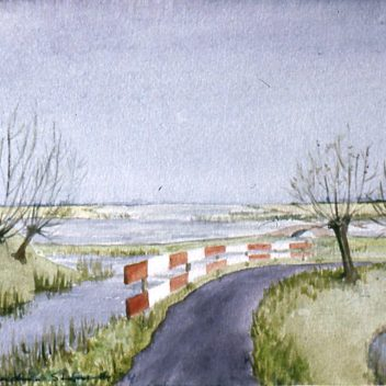De Ringweg Spaarndam 1984
