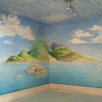 Wandschildering 1998